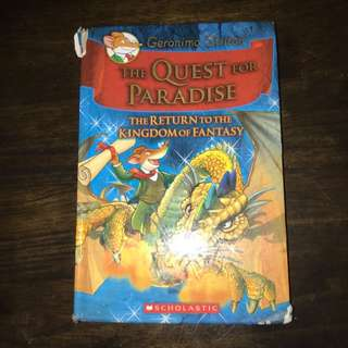 Geronimo Stilton: The Quest For Paradise