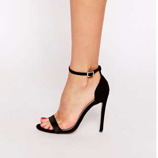 ASOS Strappy Heels in Black | Size 7.5