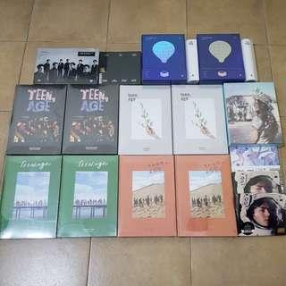 [Sealed] Kpop Albums