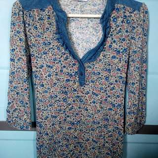 PRE LOVED 3/4 blouse