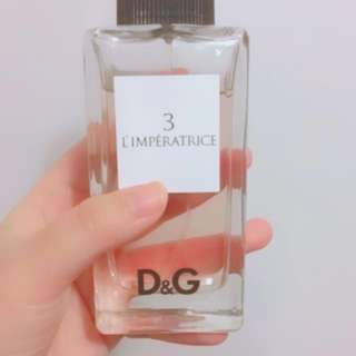 Top grade D&G perfume 1%used