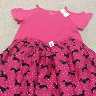 Children's Place Top & Skirt small (5-6 yo)