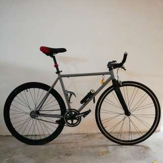 Fixie brandless bicycle fixed gear