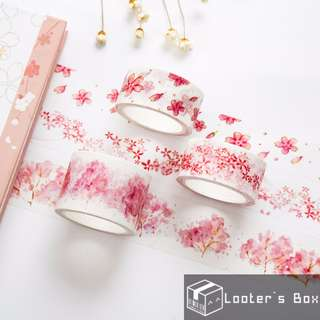 Sakura Tree Petal Japanese Pink Washi Tape