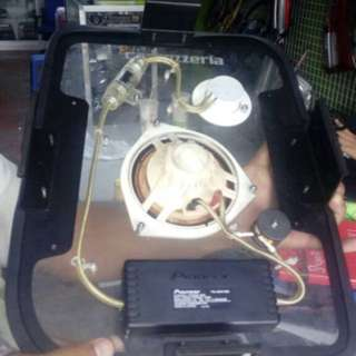 Pioneer carrozzeria D speaker toyota bb