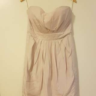 Zimmermann strapless dress sz 2