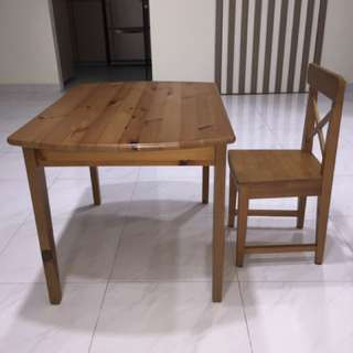 IKEA Children Table and Chair