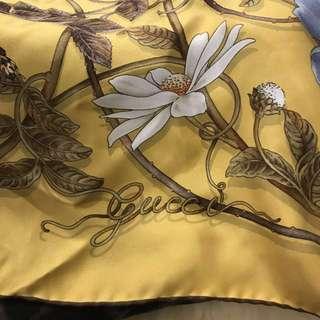 Gucci 絲巾(保留)