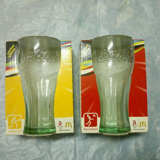 Original Coca-Cola glasses