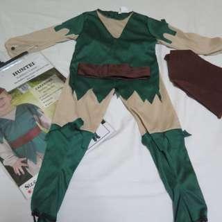 Costume peterpan/hunter