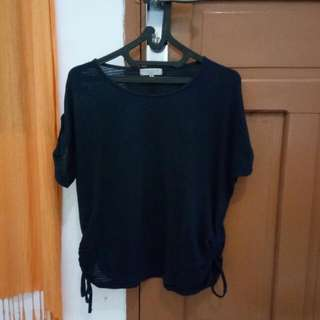 Baju Navy Size S Fit To M