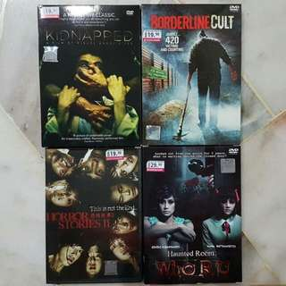 4 Original Dvds For RM40 Only!