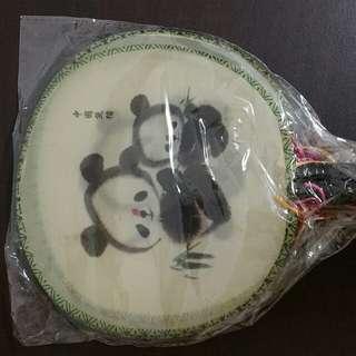 Cute panda fans (4 pcs)