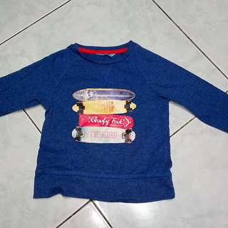 Dark Blue Sweatshirt for Kids