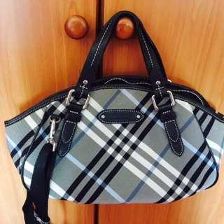 Burberry Blue Label Checked Handbag