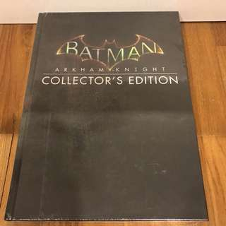 Mint and sealed The Batman: Arkham Knight Collector's Edition