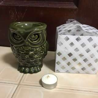 Bath & Body Works Owl Warmer With Approximately 11 Candle Pods