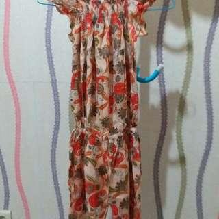 jumpsuit overall glower bunga summer dress