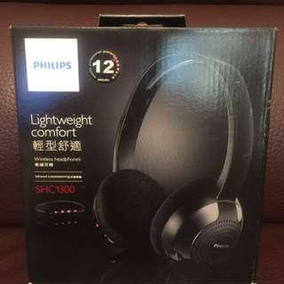 Philips Wireless Headphones SHC1300