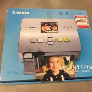 Canon Selphy CP780 輕巧相片打印機