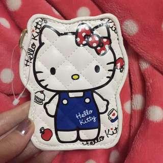 正版Hello kitty皮革卡套