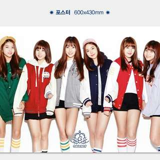 GFRIEND Official Poster ( 2017 Season's Greetings )