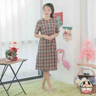 🍿 Vintage Midi Dress VD930