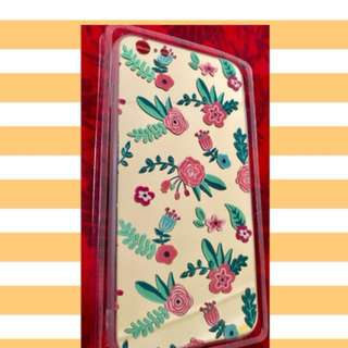 Floral Mirror Case iPhone 6/6s Plus
