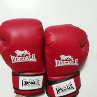 Original Lonsdale Boxing Gloves