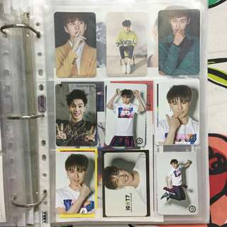 VIXX GOT7 Photocards