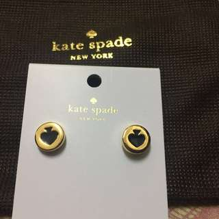 100%new and real~Kate spade 耳環,原價$250,平放