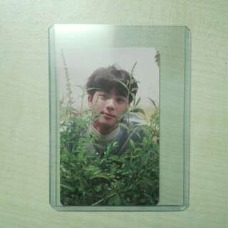 (WTS) JIN LOVE YOURSELF O VERSION OFFICIAL PHOTOCARD
