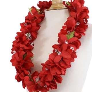 Hawaiian flower garland ** actually from Hawaii **