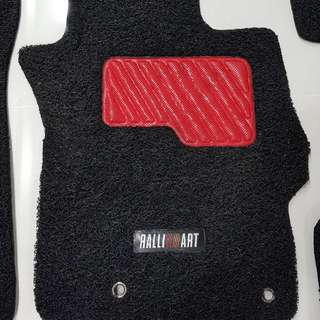 Original Mitsubishi Ralliart Car Mat for Lancer Evo X and EX