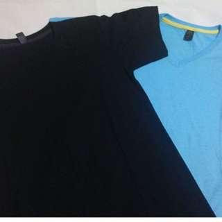 Cotton V neck shirt