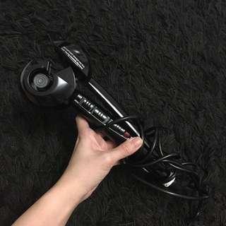 Women Automatic Hair Crimper Waver Culer Machine in BLACK