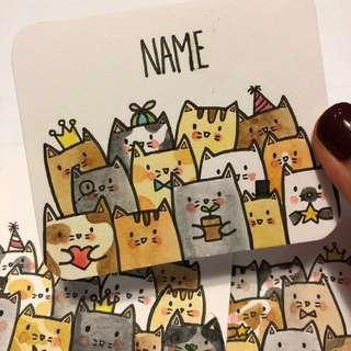 Gathering Cats