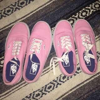Couple pink vanz (original)