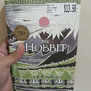 The Hobbit by J.R.R. Tolkien/ 75th Anniversary edition / Hardcover