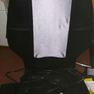 Homedics chair massager