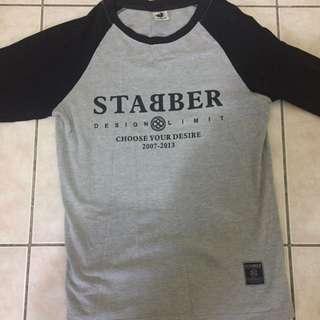 STABBER七分袖