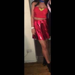 Superwoman & Wonderwoman costumes