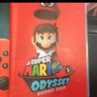 Passport- Nintendo Switch Mario Oddessy