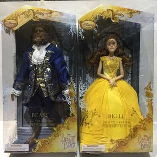 Boneka Film Collection Disney Store Beauty and The Beast - Belle & The Beast
