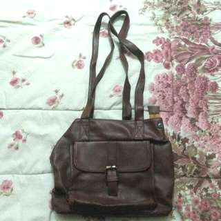 Vintage Deep Brown Bag