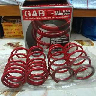 GAB Lowering Spring for Toyota Vios