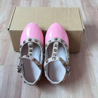 Valentino Peach/Pink Girl Shoes