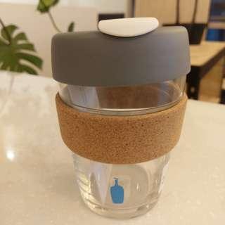 Blue Bottle Glass Coffe Cup 玻璃隨身杯 藍瓶子