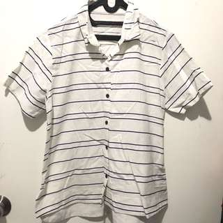 Stripes Shirt (fit to L)