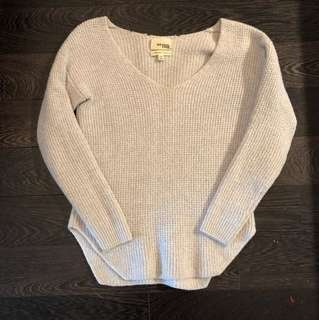 Aritzia WilfredFree right knitted top xxs
